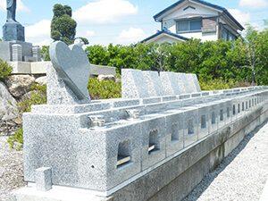 宝積寺個別墓地